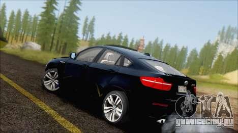 BMW X6M E71 2013 300M Wheels для GTA San Andreas вид слева