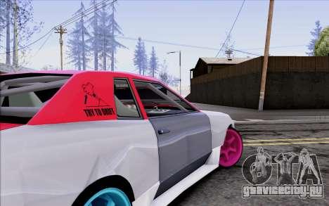 Elegy New Drift Kor4 для GTA San Andreas вид сверху