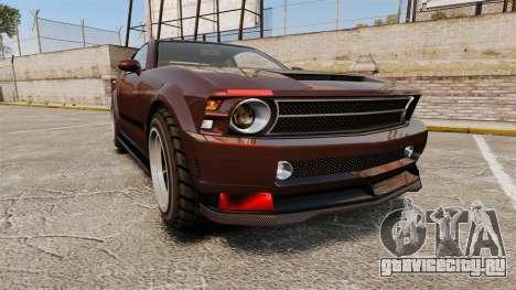 GTA V Vapid Dominator wheels v1 для GTA 4