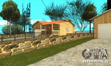 Новый дом Сиджея в Паломино Крик для GTA San Andreas второй скриншот