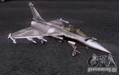 Dassault Rafale M для GTA San Andreas вид сбоку