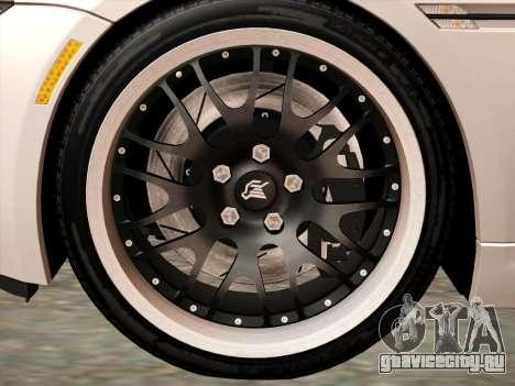 BMW M6 Hamann для GTA San Andreas вид сзади
