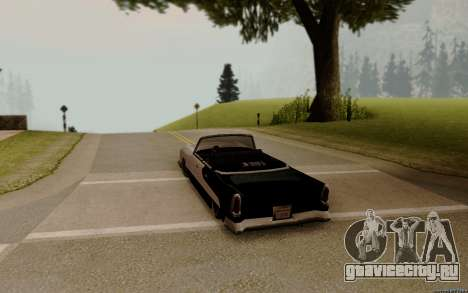 Oceanic Кабриолет для GTA San Andreas вид сзади слева