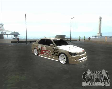Lexus IS300 Tuneable для GTA San Andreas