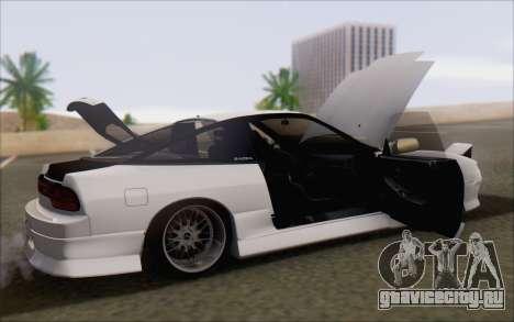 Nissan 240sx Blister для GTA San Andreas вид снизу