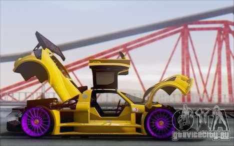 Gumpert Apollo S Autovista для GTA San Andreas вид сбоку