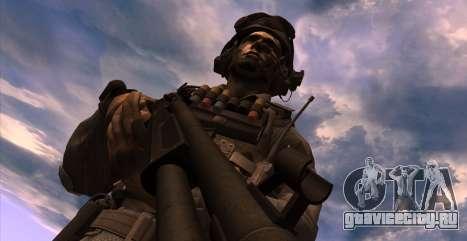 Lt. David Hesh Walker из Call Of Duty: Ghosts для GTA San Andreas третий скриншот