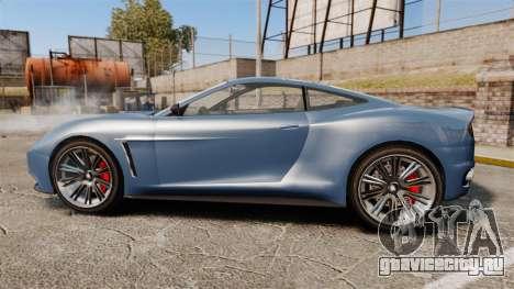 GTA V Dewbauchee Massacro для GTA 4 вид слева