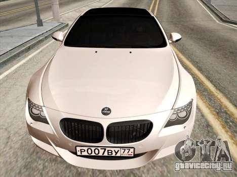 BMW M6 Hamann для GTA San Andreas вид слева