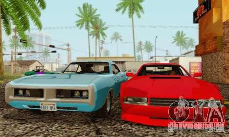 New Cheetah v1.0 для GTA San Andreas вид сзади слева