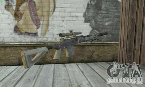 Sniper Rifle из MW2 для GTA San Andreas второй скриншот
