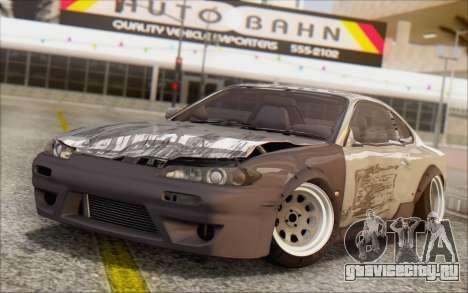 Nissan Silvia S15 Fail Camber для GTA San Andreas вид сбоку