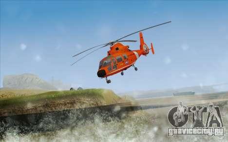 AS 365N Dauphin для GTA San Andreas вид слева