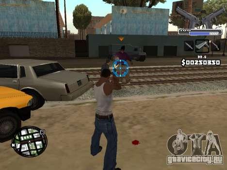 C-HUD Deagle для GTA San Andreas пятый скриншот