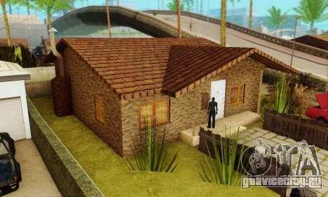 Новые текстуры дома Денис для GTA San Andreas второй скриншот
