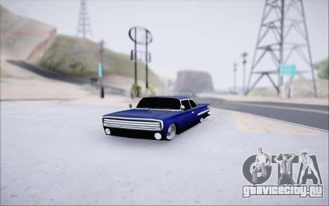 Voodoo Low Car v.1 для GTA San Andreas