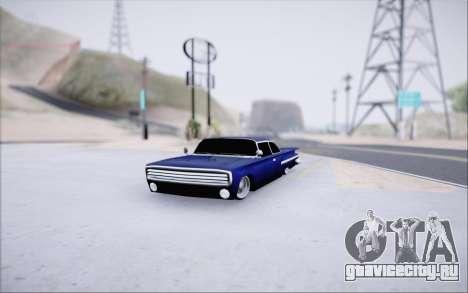 Voodoo Low Car v.1 для GTA San Andreas