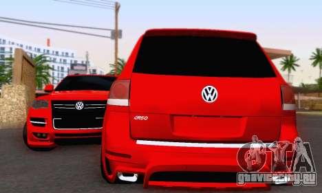 Volkswagen Touareg Mansory для GTA San Andreas вид слева