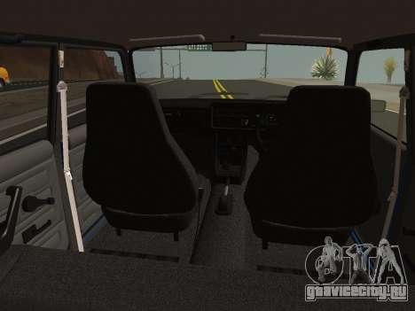 ВАЗ-2107 Riva для GTA San Andreas вид справа