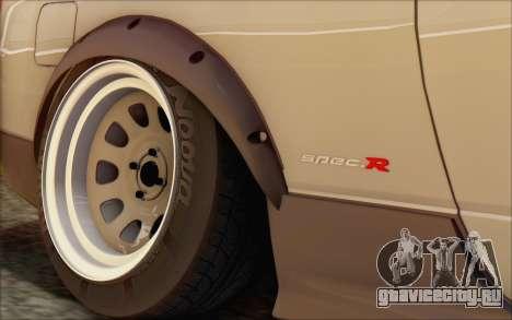Nissan Silvia S15 Fail Camber для GTA San Andreas вид сзади