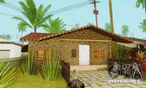 Новые текстуры дома Денис для GTA San Andreas пятый скриншот