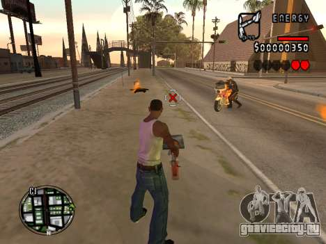 C-HUD Energy для GTA San Andreas второй скриншот