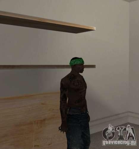 Новые банданы для CJ для GTA San Andreas третий скриншот