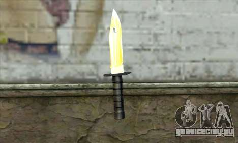 Golden Knife для GTA San Andreas