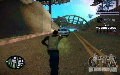 C-HUD Tawer Gitto для GTA San Andreas второй скриншот