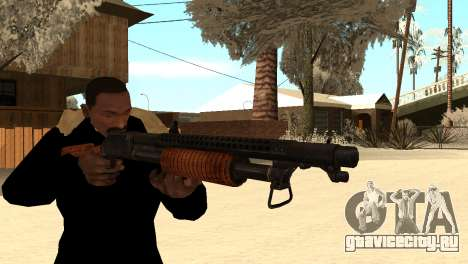 M1897 from Battle Territory Battery для GTA San Andreas третий скриншот