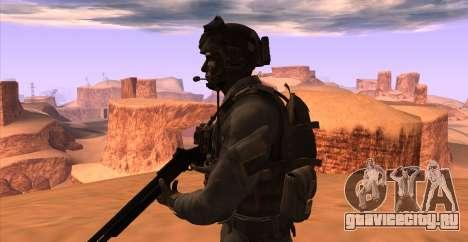 Lt. David Hesh Walker из Call Of Duty: Ghosts для GTA San Andreas шестой скриншот