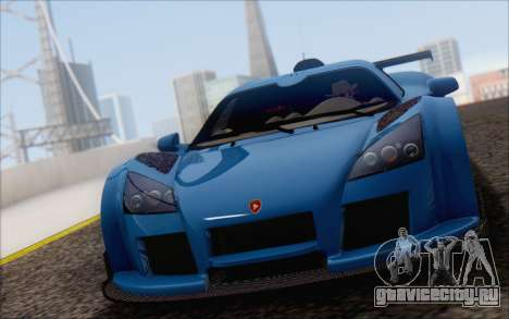 Gumpert Apollo S Autovista для GTA San Andreas вид сверху