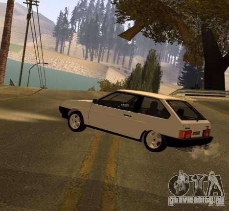 ВАЗ 2108 GVR Version 2.0 для GTA San Andreas вид слева