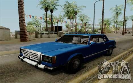 Feltzer с жёсткой крышей для GTA San Andreas вид справа