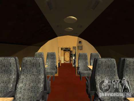 Ту-104А для GTA San Andreas салон