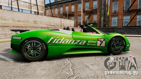Pagani Zonda C12 S Roadster 2001 PJ6 для GTA 4 вид слева