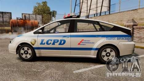 Karin Dilettante LCPD для GTA 4 вид слева