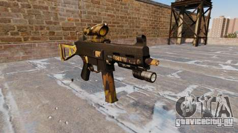Пистолет-пулемёт UMP45 Fall Camos для GTA 4