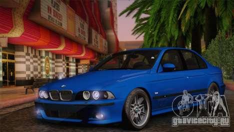 BMW E39 M5 2003 для GTA San Andreas вид справа