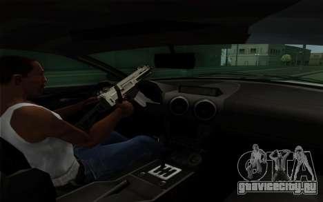 Rapid GT для GTA San Andreas вид снизу