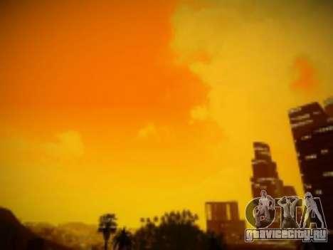 SkyBox Arrange - Real Clouds and Stars для GTA San Andreas четвёртый скриншот