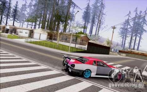 Elegy New Drift Kor4 для GTA San Andreas вид сзади слева