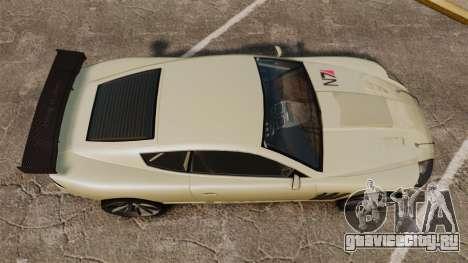 GTA V Ocelot F620 Racer для GTA 4 вид справа