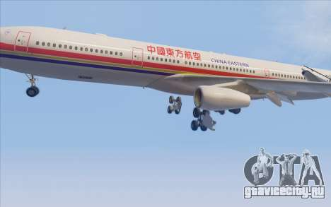 Airbus A340-300 China Eastern для GTA San Andreas вид сбоку