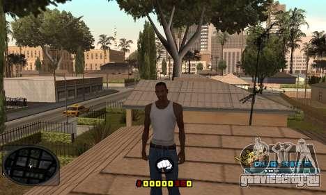 C-HUD Old-Rifa для GTA San Andreas