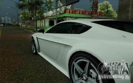 Rapid GT для GTA San Andreas вид сверху