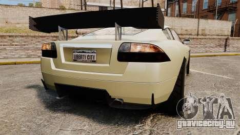 GTA V Ocelot F620 Racer для GTA 4 вид сзади слева