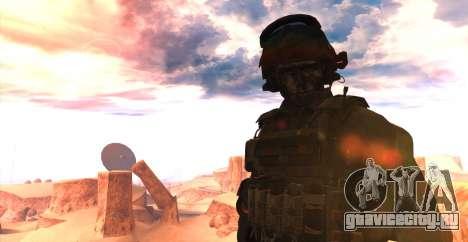 Lt. David Hesh Walker из Call Of Duty: Ghosts для GTA San Andreas второй скриншот