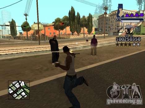 C-HUD new A.C.A.B для GTA San Andreas шестой скриншот
