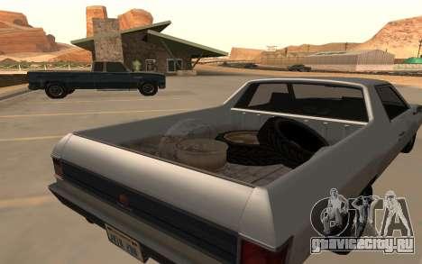 Picador GTA 5 для GTA San Andreas вид сзади слева
